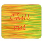 Chill out Double Sided Flano Blanket (Small)  50 x40 Blanket Front