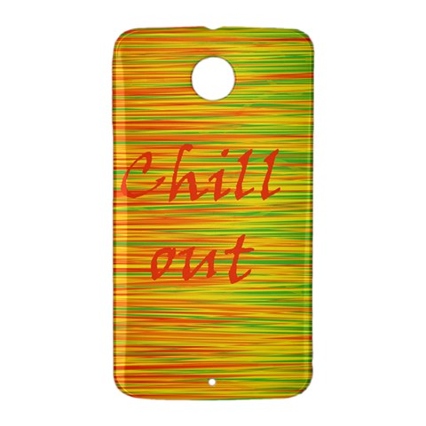 Chill out Nexus 6 Case (White)