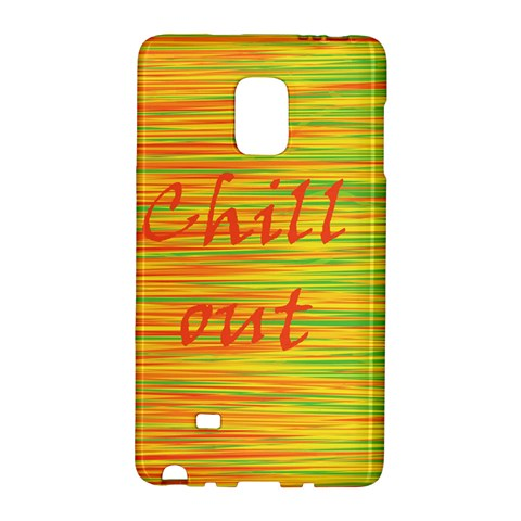 Chill out Galaxy Note Edge