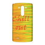 Chill out LG G3 Back Case Front