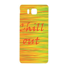 Chill out Samsung Galaxy Alpha Hardshell Back Case