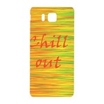 Chill out Samsung Galaxy Alpha Hardshell Back Case Front