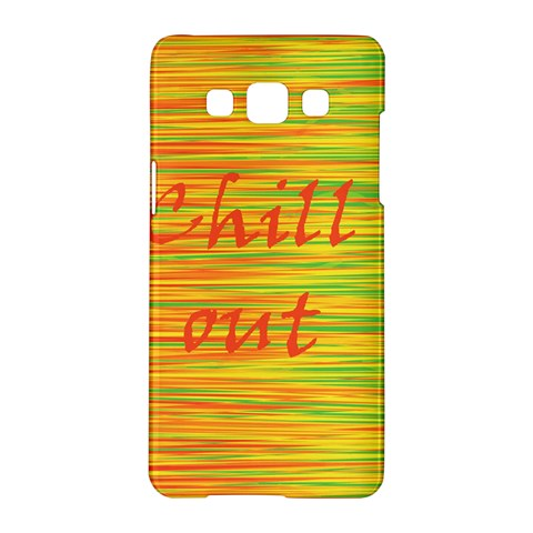 Chill out Samsung Galaxy A5 Hardshell Case