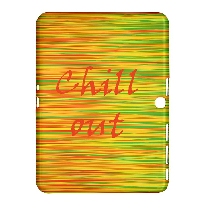 Chill out Samsung Galaxy Tab 4 (10.1 ) Hardshell Case