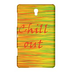 Chill Out Samsung Galaxy Tab S (8 4 ) Hardshell Case