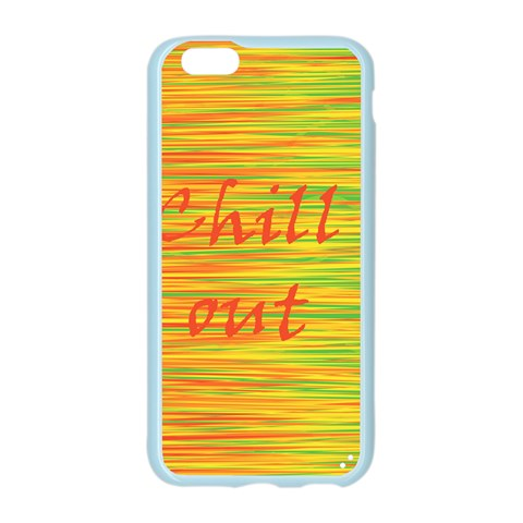 Chill out Apple Seamless iPhone 6/6S Case (Color)