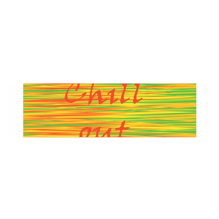 Chill out Satin Scarf (Oblong)
