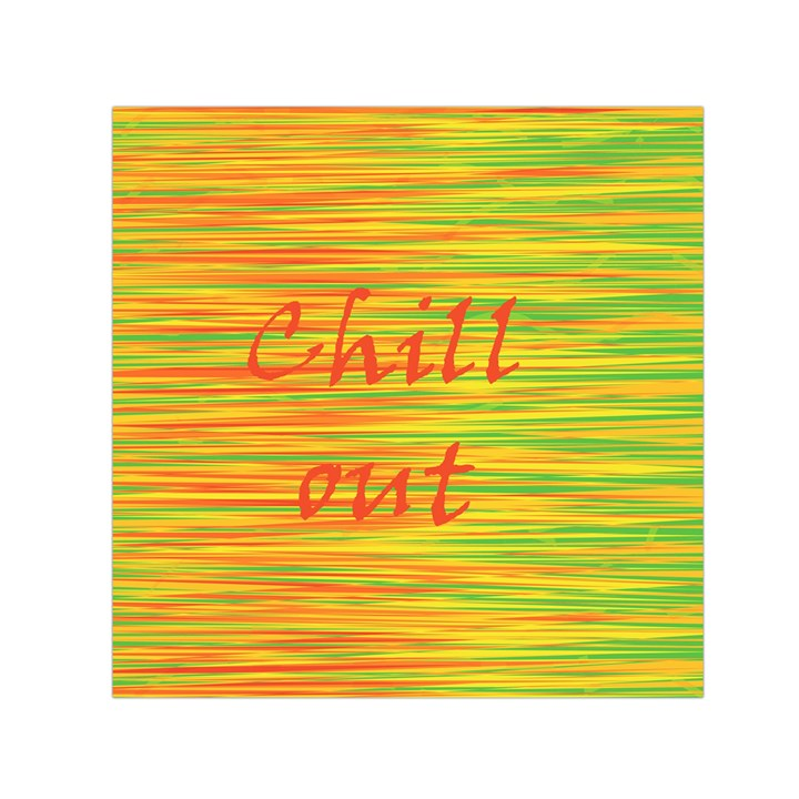 Chill out Small Satin Scarf (Square)