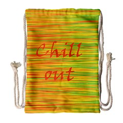 Chill out Drawstring Bag (Large)