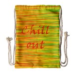 Chill out Drawstring Bag (Large) Front