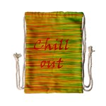Chill out Drawstring Bag (Small) Back