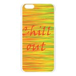 Chill out Apple Seamless iPhone 6 Plus/6S Plus Case (Transparent) Front