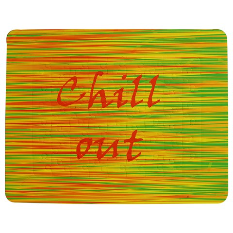 Chill out Jigsaw Puzzle Photo Stand (Rectangular)