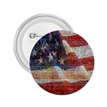 Grunge United State Of Art Flag 2.25  Buttons Front