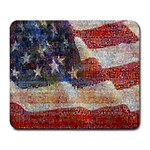 Grunge United State Of Art Flag Large Mousepads Front