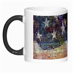 Grunge United State Of Art Flag Morph Mugs