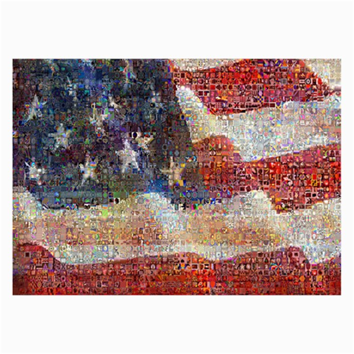 Grunge United State Of Art Flag Collage Prints