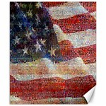 Grunge United State Of Art Flag Canvas 8  x 10  10.02 x8 Canvas - 1