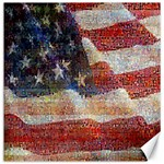 Grunge United State Of Art Flag Canvas 12  x 12   12 x12 Canvas - 1
