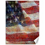 Grunge United State Of Art Flag Canvas 12  x 16   16 x12 Canvas - 1