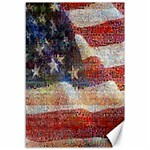 Grunge United State Of Art Flag Canvas 12  x 18   18 x12 Canvas - 1