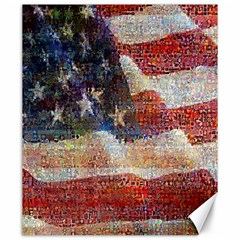 Grunge United State Of Art Flag Canvas 20  x 24