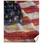 Grunge United State Of Art Flag Canvas 20  x 24   24 x20 Canvas - 1