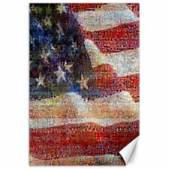 Grunge United State Of Art Flag Canvas 20  x 30
