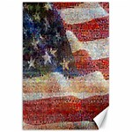 Grunge United State Of Art Flag Canvas 20  x 30   30 x20 Canvas - 1