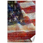 Grunge United State Of Art Flag Canvas 24  x 36  36 x24 Canvas - 1