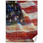 Grunge United State Of Art Flag Canvas 36  x 48   48 x36 Canvas - 1