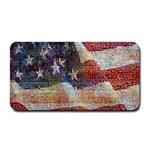 Grunge United State Of Art Flag Medium Bar Mats 16 x8.5 Bar Mat - 1