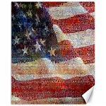 Grunge United State Of Art Flag Canvas 11  x 14   14 x11 Canvas - 1