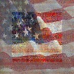Grunge United State Of Art Flag Mini Canvas 4  x 4  4  x 4  x 0.875  Stretched Canvas