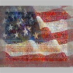 Grunge United State Of Art Flag Canvas 10  x 8  10  x 8  x 0.875  Stretched Canvas