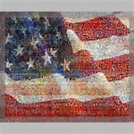 Grunge United State Of Art Flag Canvas 20  x 16  20  x 16  x 0.875  Stretched Canvas