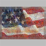 Grunge United State Of Art Flag Canvas 18  x 12  18  x 12  x 0.875  Stretched Canvas