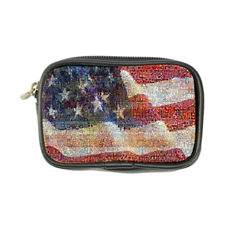 Grunge United State Of Art Flag Coin Purse