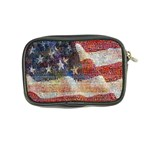 Grunge United State Of Art Flag Coin Purse Back