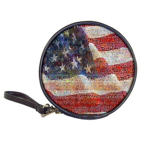 Grunge United State Of Art Flag Classic 20-CD Wallets