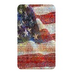 Grunge United State Of Art Flag Memory Card Reader Front