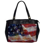Grunge United State Of Art Flag Office Handbags Front