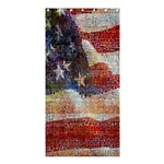 Grunge United State Of Art Flag Shower Curtain 36  x 72  (Stall)  36 x72 Curtain