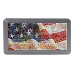 Grunge United State Of Art Flag Memory Card Reader (Mini) Front