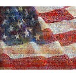 Grunge United State Of Art Flag Deluxe Canvas 14  x 11  14  x 11  x 1.5  Stretched Canvas