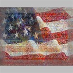 Grunge United State Of Art Flag Deluxe Canvas 16  x 12   16  x 12  x 1.5  Stretched Canvas