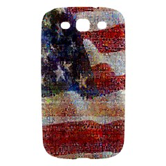 Grunge United State Of Art Flag Samsung Galaxy S III Hardshell Case