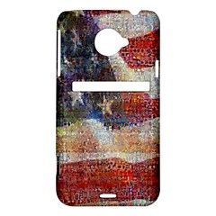 Grunge United State Of Art Flag HTC Evo 4G LTE Hardshell Case