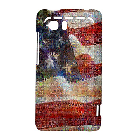 Grunge United State Of Art Flag HTC Vivid / Raider 4G Hardshell Case