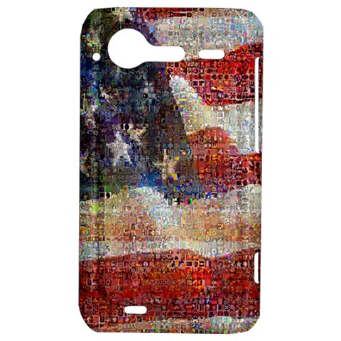 Grunge United State Of Art Flag HTC Incredible S Hardshell Case